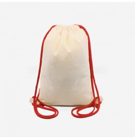 Snack bag - Red lace