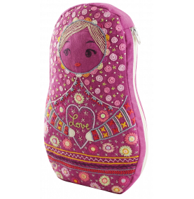 Trousse Matriochka - Pink